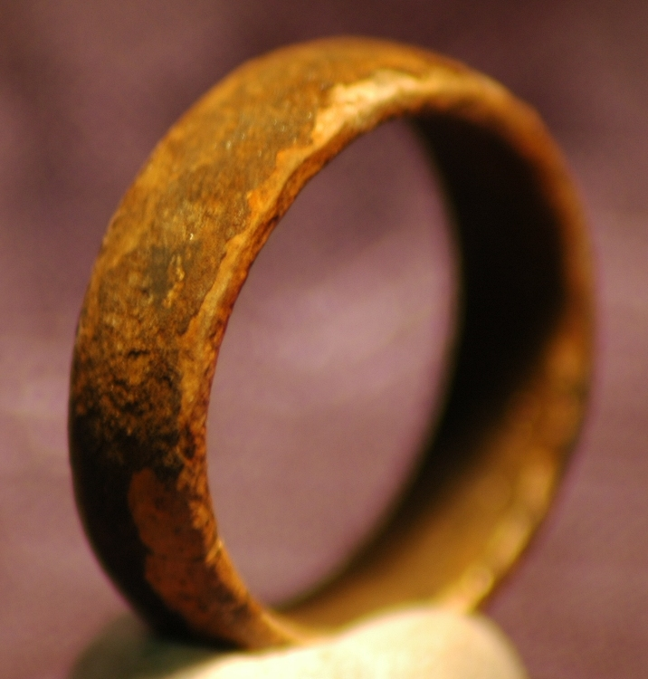 Rusty Ring? No - It is Silver and Silver does not Rust! Before after Photos Coming Soon!