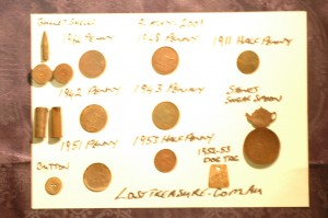 Today's Metal Detecting Finds - Coins etc