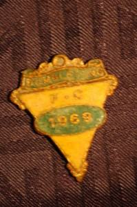 Dumbleyung Football Club Badge dated 1969