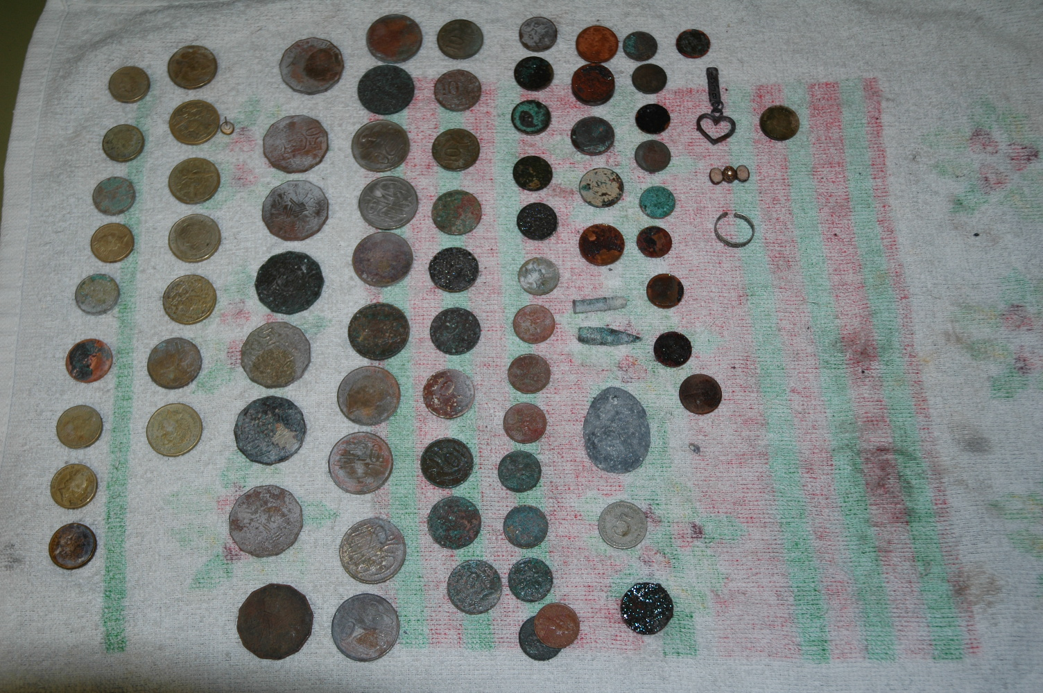 Tom's Personal Metal Detector and Treasure Web Page. Welcome to My