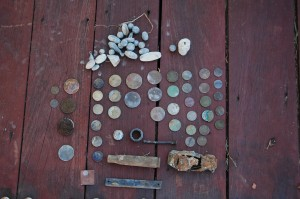 Swan River Metal Detecting Finds
